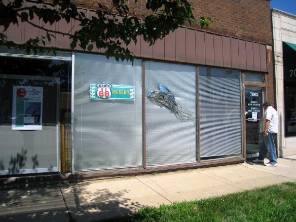 Exterior, Berwyn Route 66 Museum, 7003 West Ogden Avenue, Berwyn IL