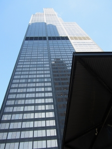 The Sears Tower, aka Big Willie  (Photo copyright 2014 by J.D. Kubal; all right reserved)