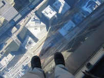 Sears Tower 6 - glass ledge on 103rd floor (JDKubal 2-2014) - blog