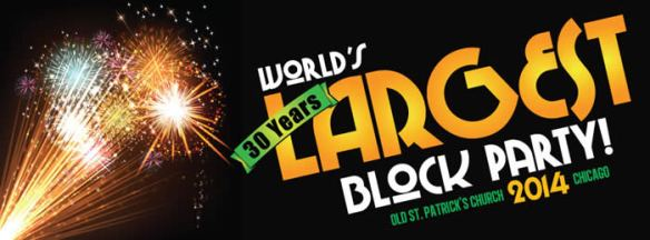 Worlds largest block party poster
