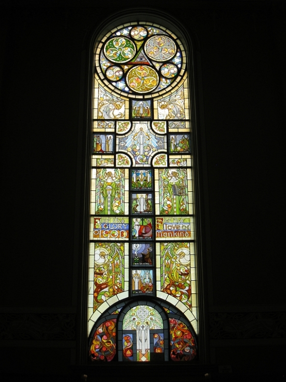 The MacSwiney (Hope) window  (Photo copyright M.R. Traska; all rights reserved)