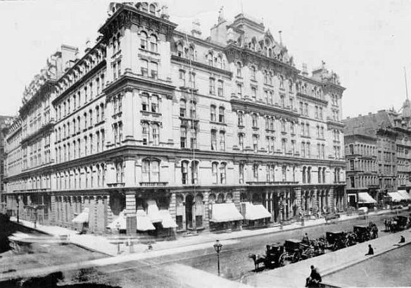 The Grand Pacific Hotel, Chicago, 1887