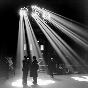 Union Station in January, 1943  (Library of Congress, reproduction number LC-USZ62-130260)