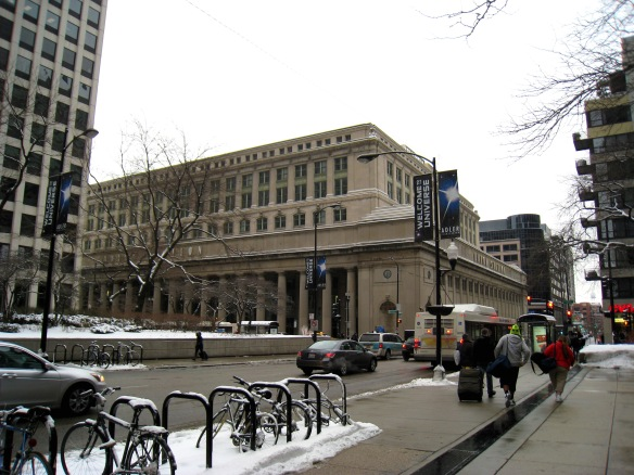 Chicago's Union Station, another Daniel Burnham design  (photo copyright 2014 by M.R. Traska; all rights reserved)