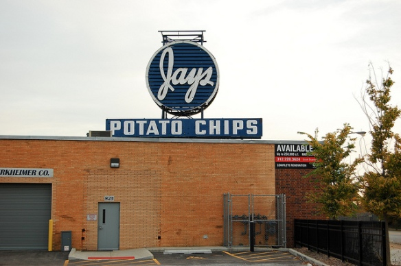 Jays potato chip factory (defunct)