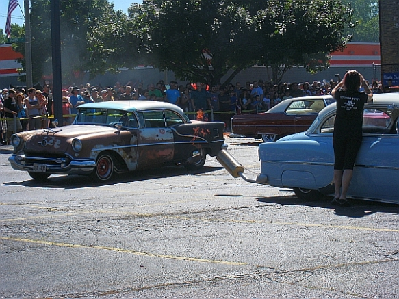 2014 Berwyn Car Show 3 - nitro fuel demo - blog (MRTraska)