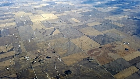5 – Fallow fields full of wind turbines near Coal City, IL  (photo copyright 2015 by K. Yearman; all rights reserved)