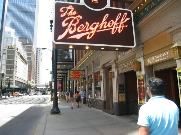 The Berghoff Restaurant and Berghoff Cafe (photo copyright 2014 by M.R. Traska; all rights reserved)