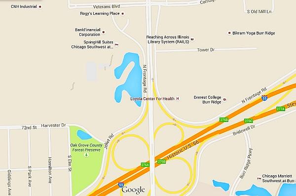 Schustek pond large area map blog google maps jpg