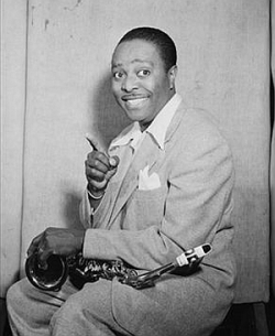 Louis Jordan, circa July 1946  (photo courtesy of William P. Gottlieb via Wikimedia Commons)