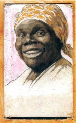 Portrait of Nancy Green as Aunt Jemima by A. B. Frost