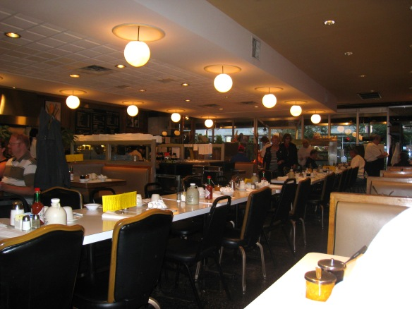 Interior of Lou Mitchell's (Photo copyright 2012 by M.R. Traska; all rights reserved)